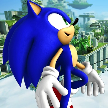 Sonic and the Secret Rings Japanese site update