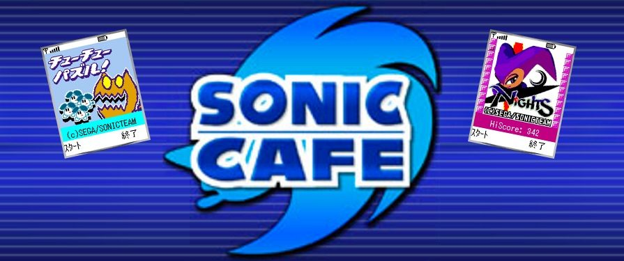 Sonic Team Announces Mobile Games Service 'Sonic Cafe'