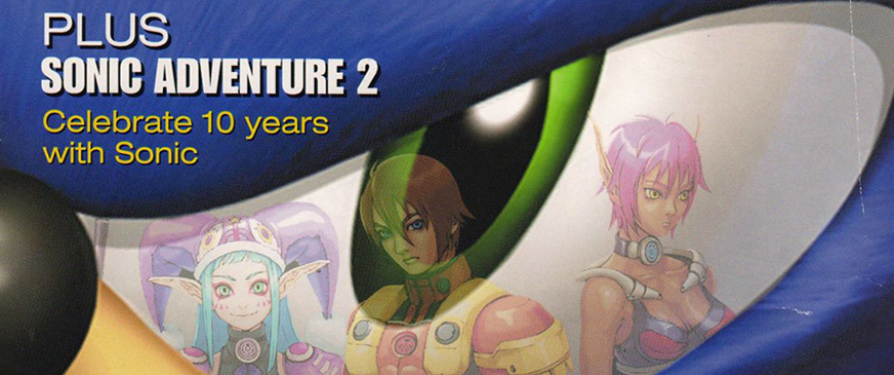 Sonic 10th Anniversary Celebrated in Electronic Gaming Monthly