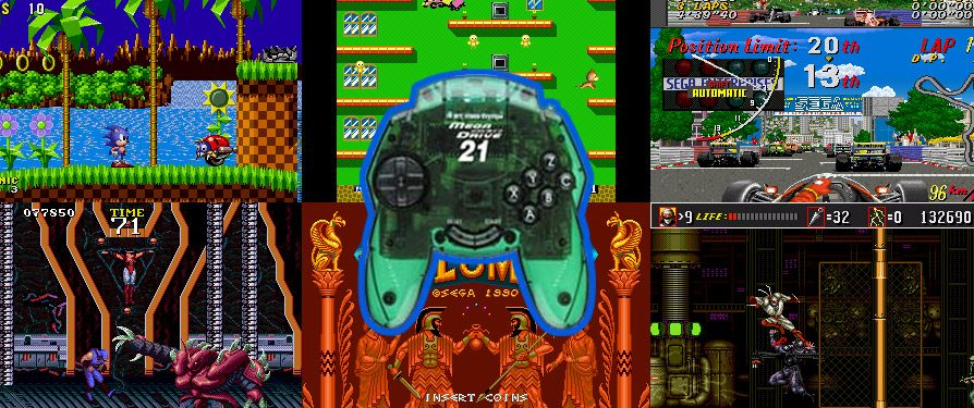 'Mega Drive 21' Handheld Console to Launch in Japan