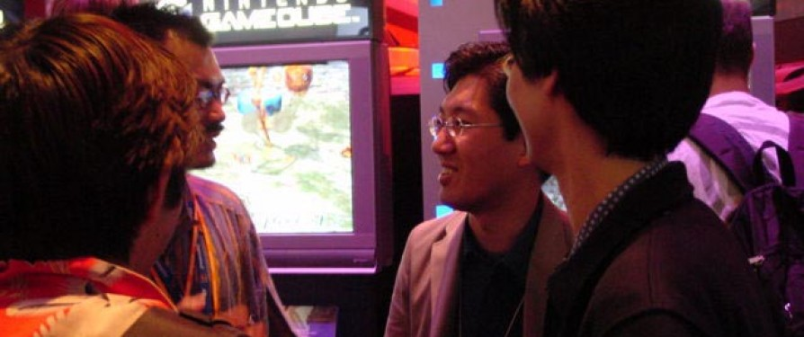 Papped: Yuji Naka Enjoys Pikmin
