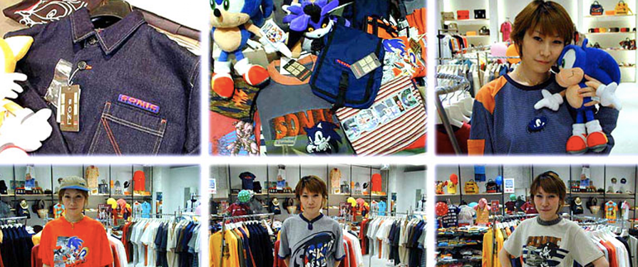 Sonic Team Reveals Sonic Store in Japan