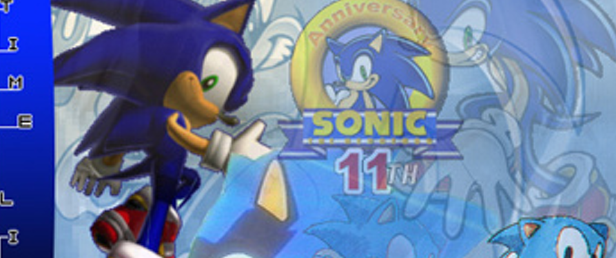 Sonic's 10th Anniversary: The Ten Year History!