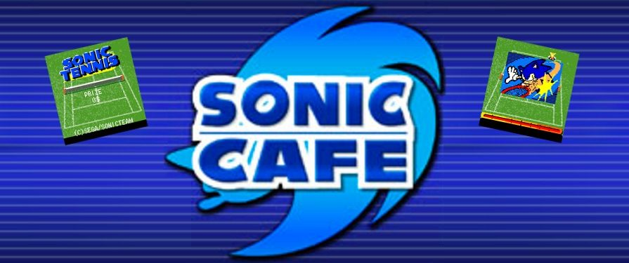 Sonic Serves Up Some Fun in 'Sonic Tennis' on Japanese Sonic Cafe Service