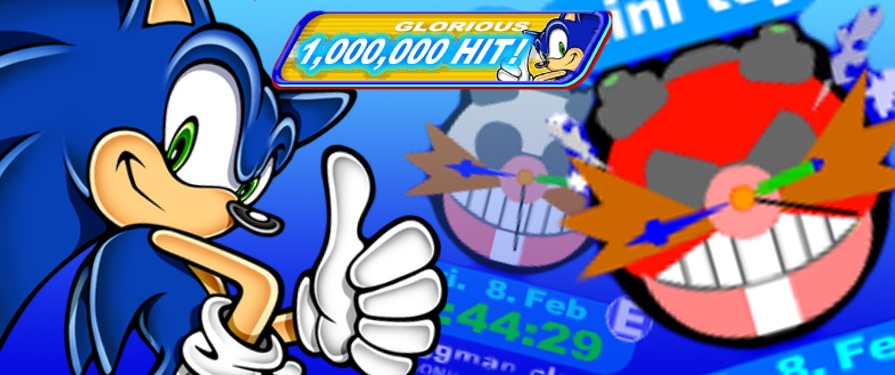 Sonic Team.com Celebrates 1 Million Visitors With Eggman Clock