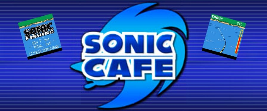 Sonic Goes Fishing in Latest Japanese Sonic Cafe Mobile Game