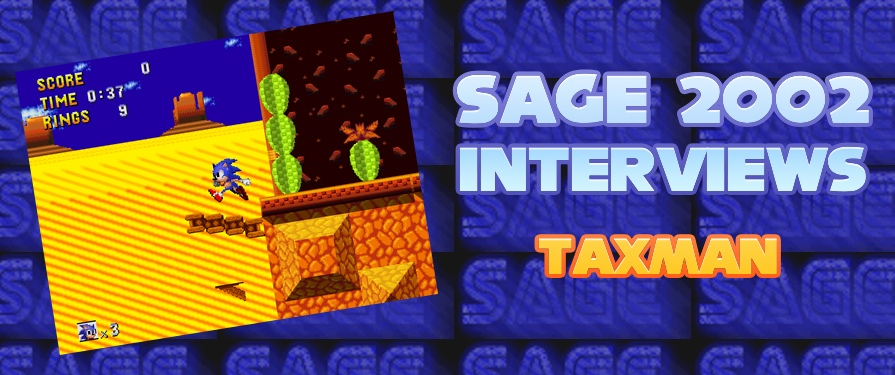 SAGE 4 Interview: 'Retro Sonic' Developer Taxman