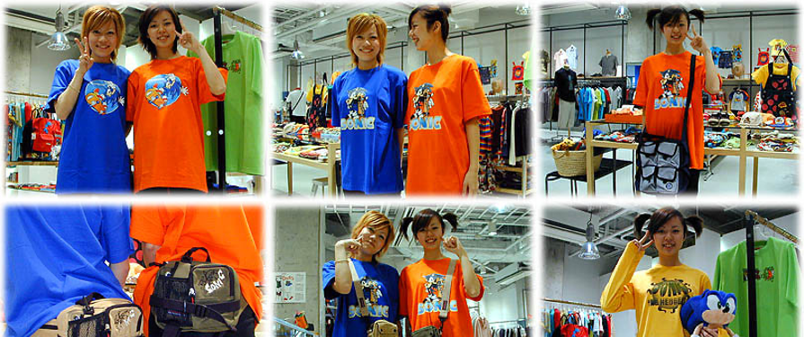 Official Sonic Store 'R-Mix' Celebrates First Anniversary With New Clothing Range