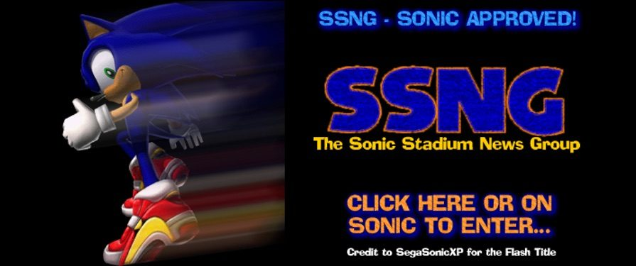 TSS and Sonic News Update: Sonic Stadium News Group Is Open!