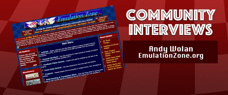 Community Interview: Andy Wolan of Emulation Zone