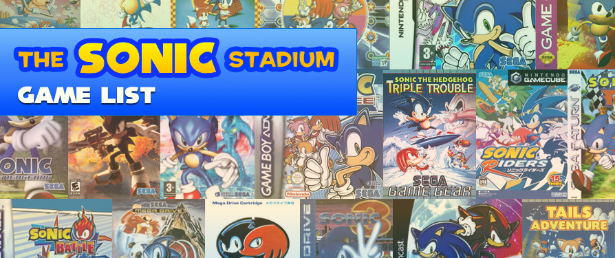 Game Info – The Sonic Stadium