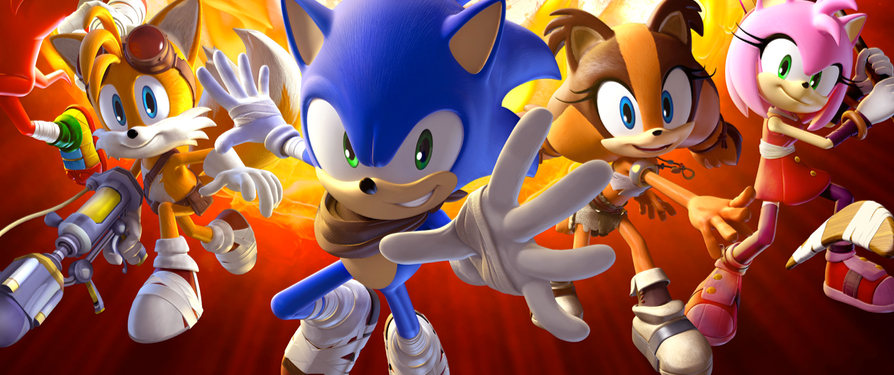 Sonic Boom Fire & Ice E3 Trailer