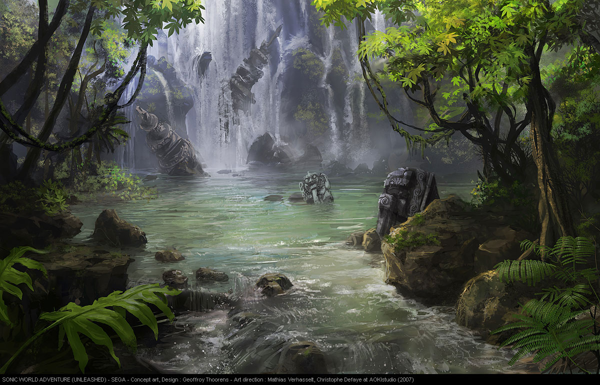 Waterfall in a jungle so peaceful upgraded 2000x1075 hdavi - 2 part 4