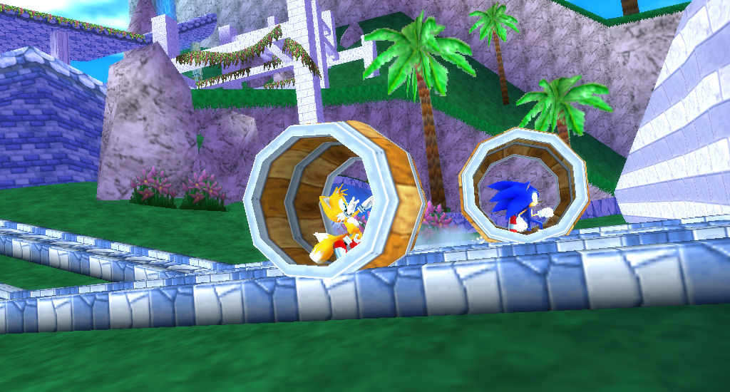 Sonic Rivals 2 Screenshots The Sonic Stadium