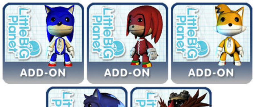 UPDATE: Sonic LBP DLC Out Now, Sonic PSN Price Reductions