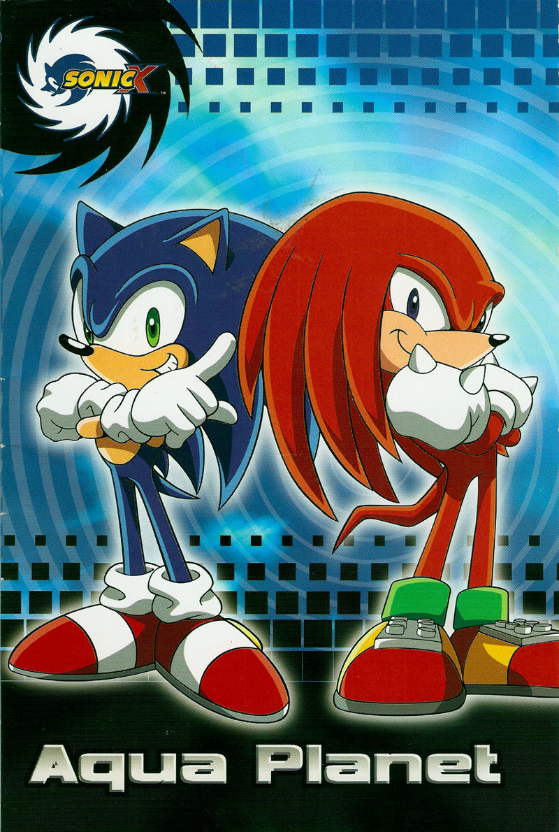 Fotos Do Sonic X intended for sonic x: aqua planet – the sonic stadium
