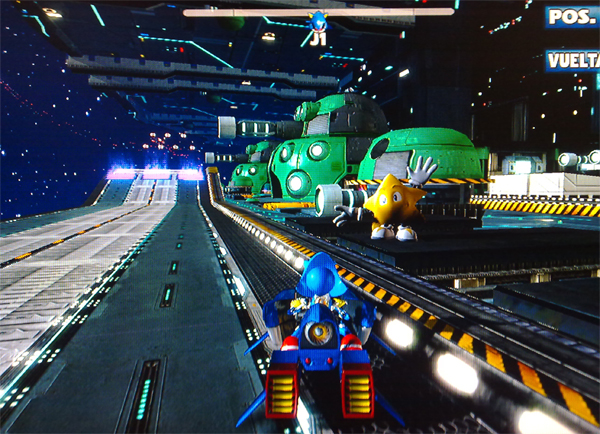 Ps3 Asr Dlc Metal Sonic Death Egg Zone And Ryo F Update 7 Dlc Removed The Sonic Stadium