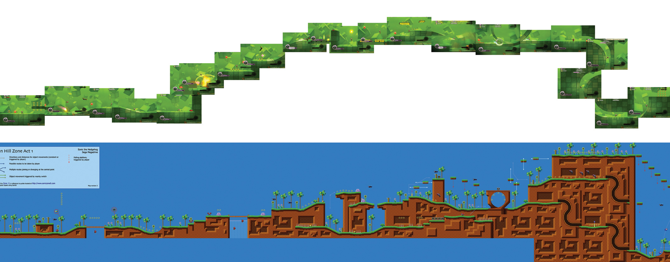 Sonic Generations Green Hill Zone Red Rings