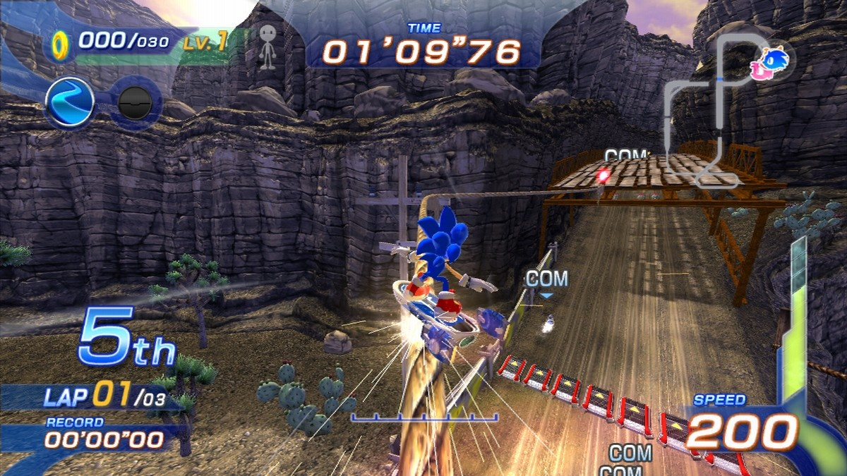 Sonic Free Riders Website Now Live, Release Dates Announced