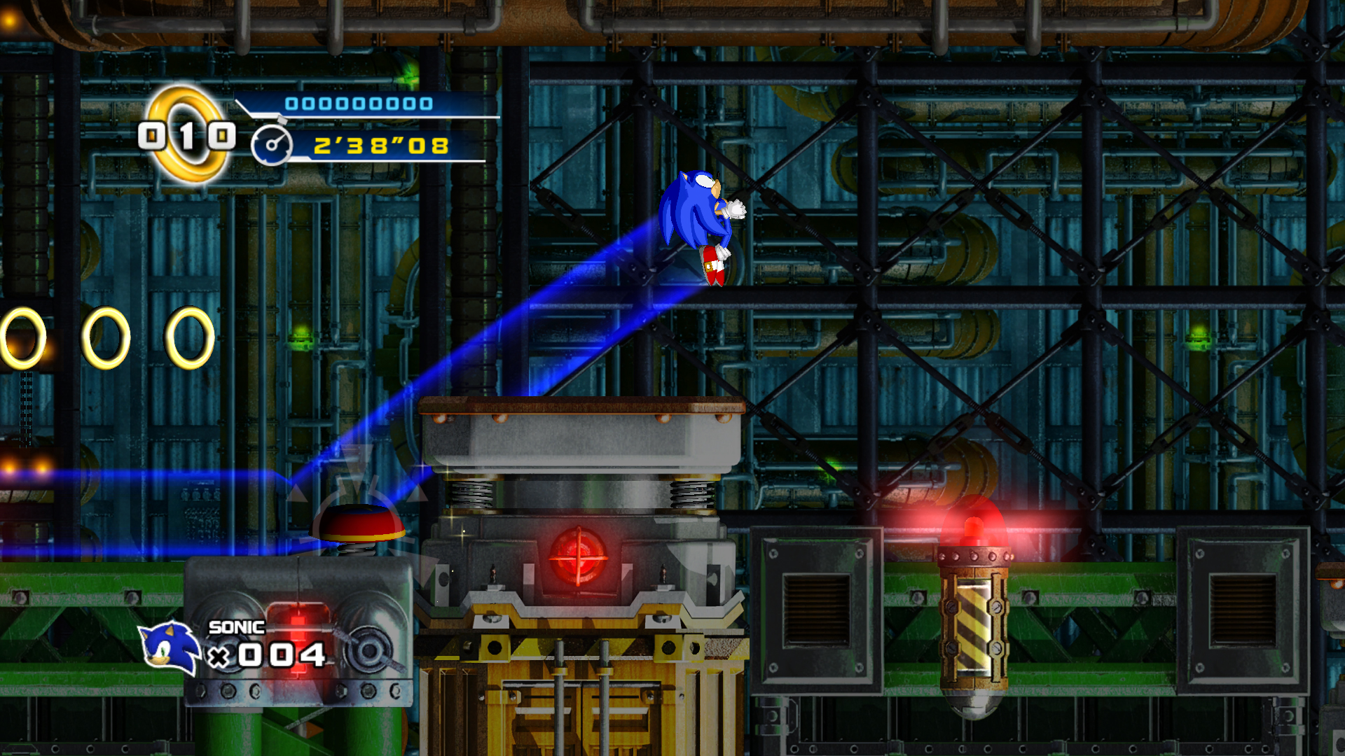 Sonic 4 Mad Gear Zone Xbox 360 Screen 14