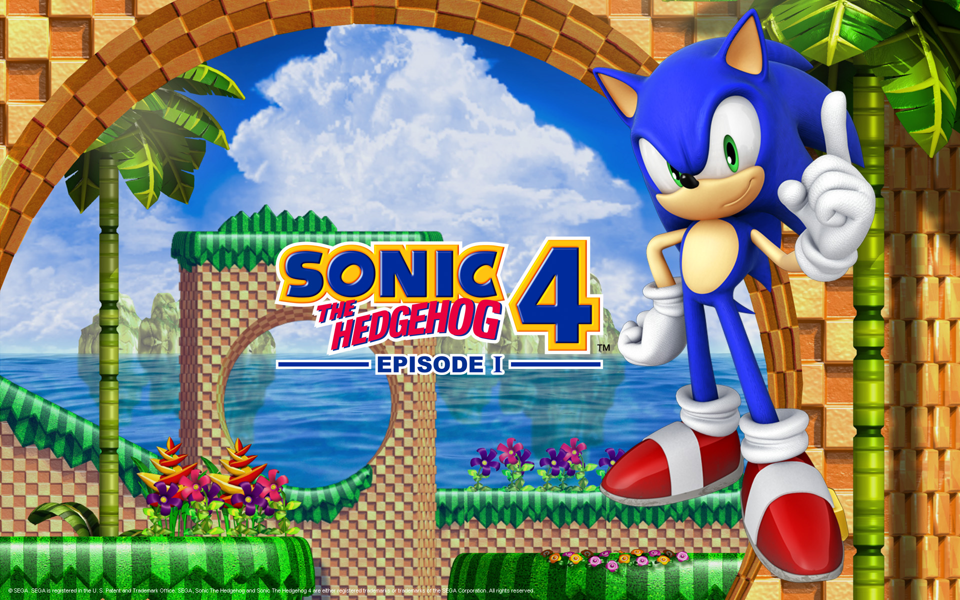 sonic the hedgehog 4 episode 1 wallpaper 217934. Black Bedroom Furniture Sets. Home Design Ideas