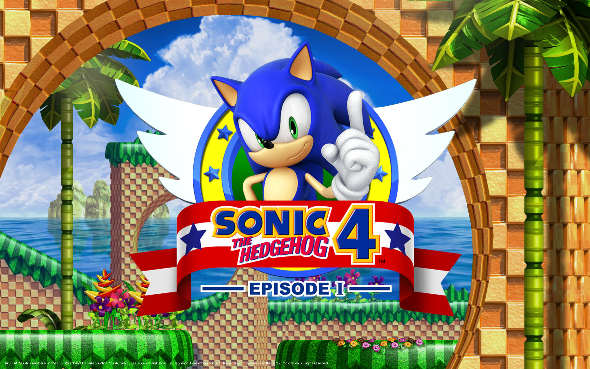 update sonic 4 official websites updated the sonic stadium. Black Bedroom Furniture Sets. Home Design Ideas