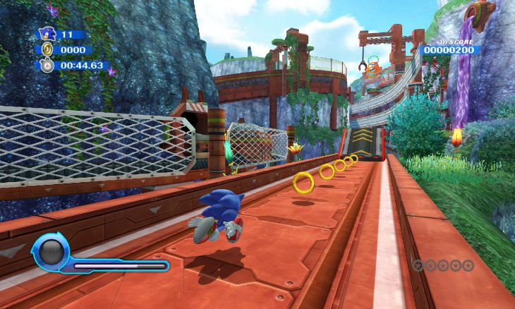 Sonic Colours Wii Planet Wisp 1 Sonic Colours 2010 pal [ Wii ]