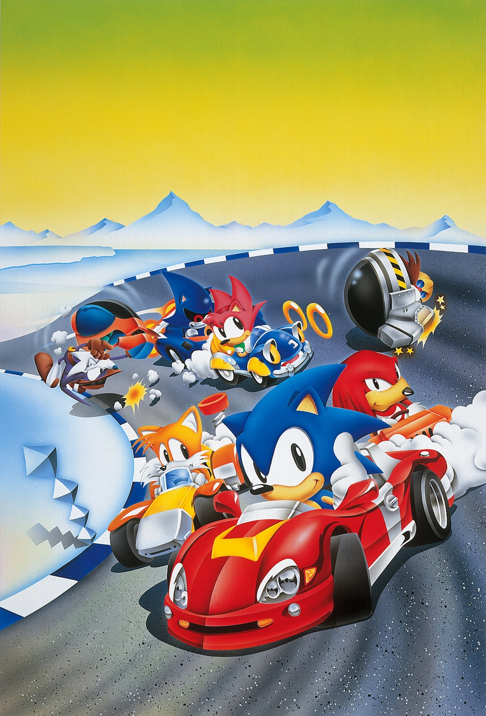 Sonic Drift 2 - Cover Artwork
