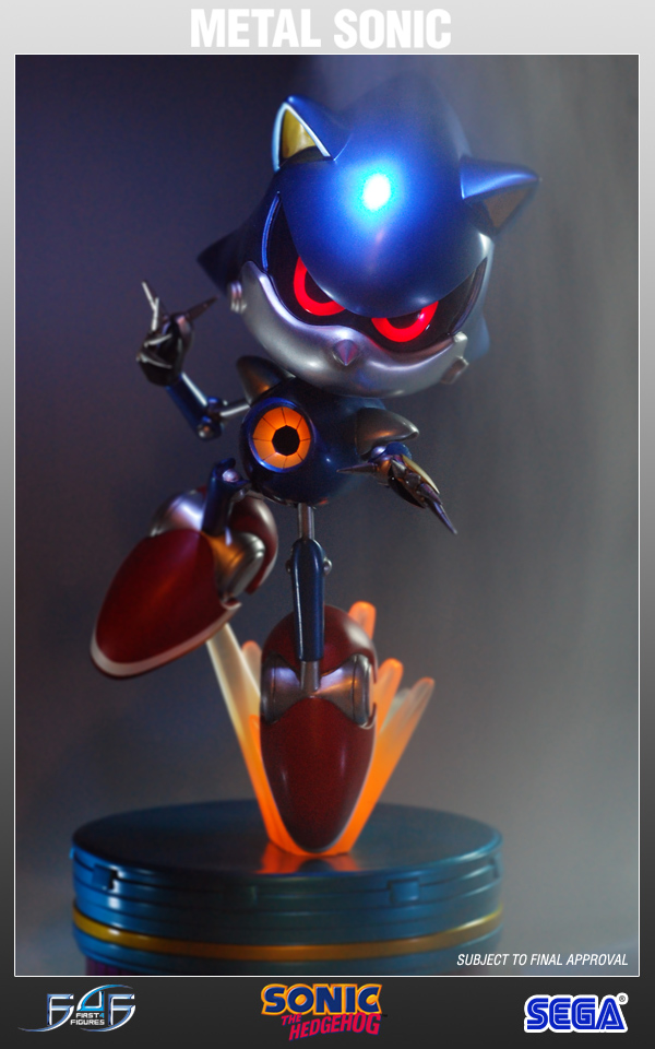 F4f Metal Sonic Statue Limited To Usa Amp Canada Now