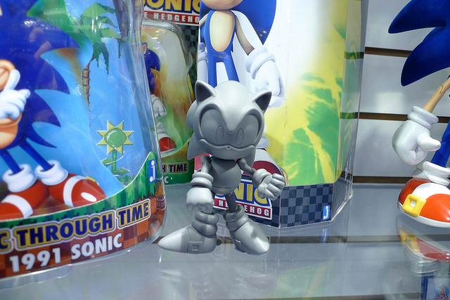 Jazwares Reveal Sonic 20th Anniversary Figures Plushes At London