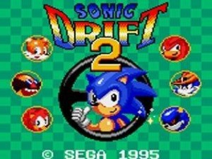 Sonic Drift 2 screen 1