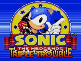 Sonic Triple Trouble screen 1
