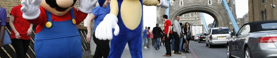 Mario and Sonic Invade London Town