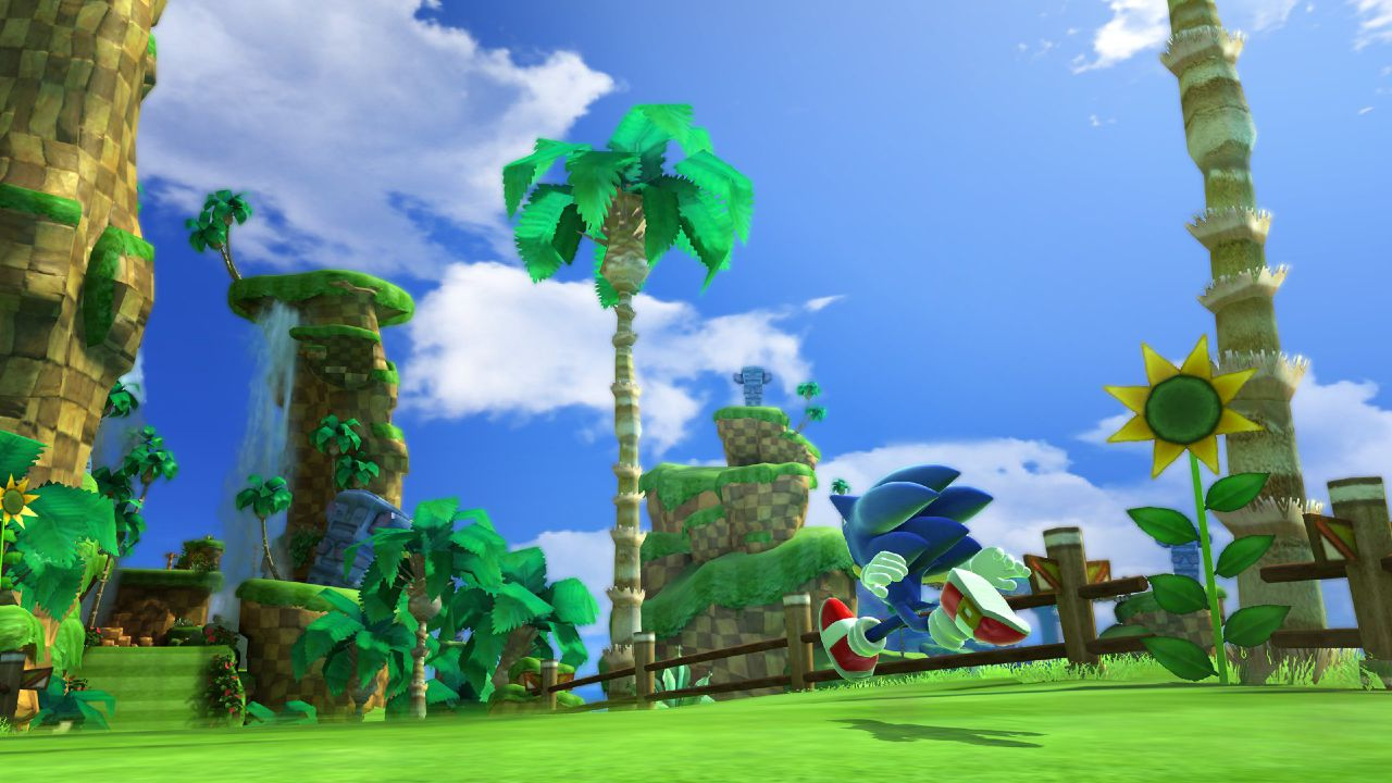 New Hi Res Sonic Generations Green Hill Zone Screenshots