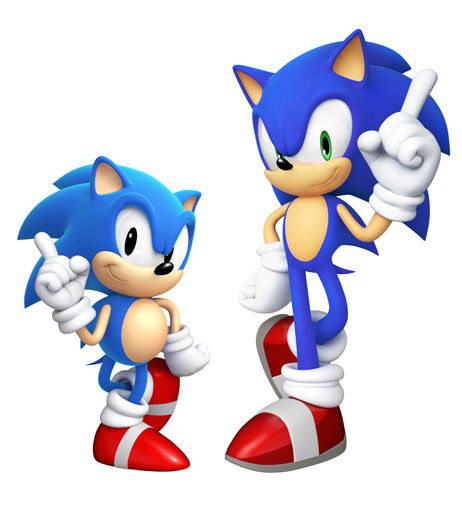 Sonic Generations artwork