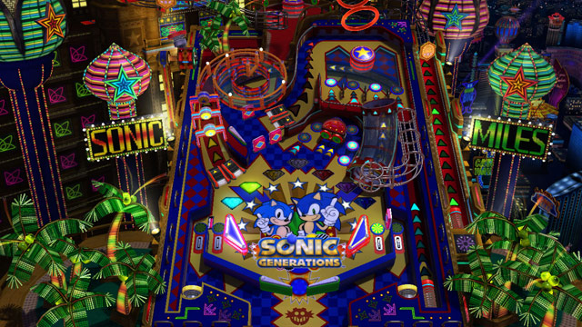 Sonic Generations Casino Night Zone screenshot