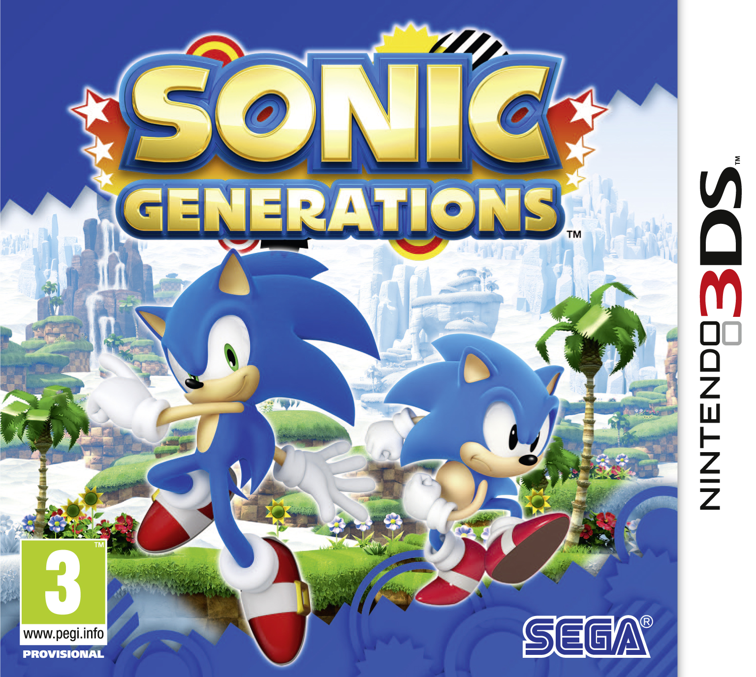 Sonic Generations 3DS Special Stage Screenshots