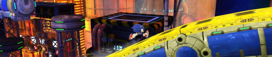 Grabber Returns in New Sonic Generations Chemical Plant Zone Screenshots