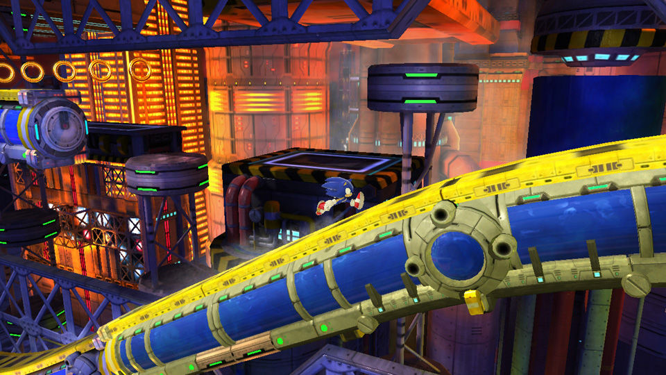 Sonic Generations Chemical Plant Zone Screenshots 1