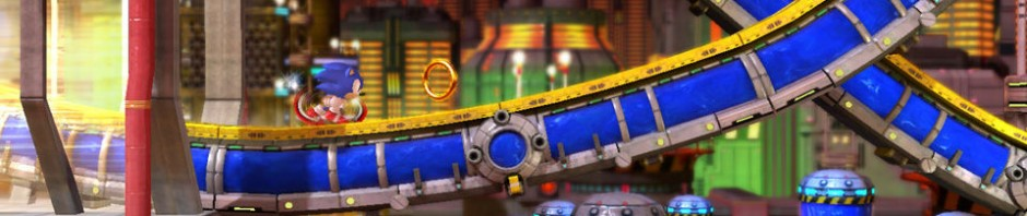 First Sonic Generations Chemical Plant Zone Gameplay Video Appears