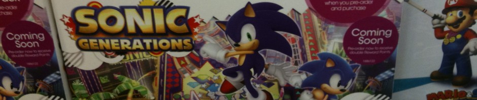 GAME Offering Sonic Generations Pre-Order DLC Pack in the UK