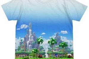 A pair of Sonic Anniversary T-Shirts Coming To Japan