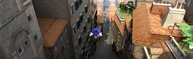 Sonic Generations: Modern Rooftop Run and Hub Videos