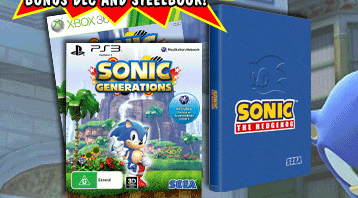 More Retailers Listing Sonic Generations' Collector's Edition, Steelbook Limited Edition Revealed