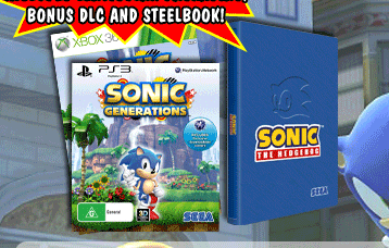 More Retailers Listing Sonic Generations Collector S Edition