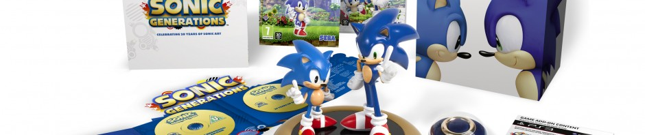 Amazon UK Listing Sonic Generations Collector's Edition For £85.52