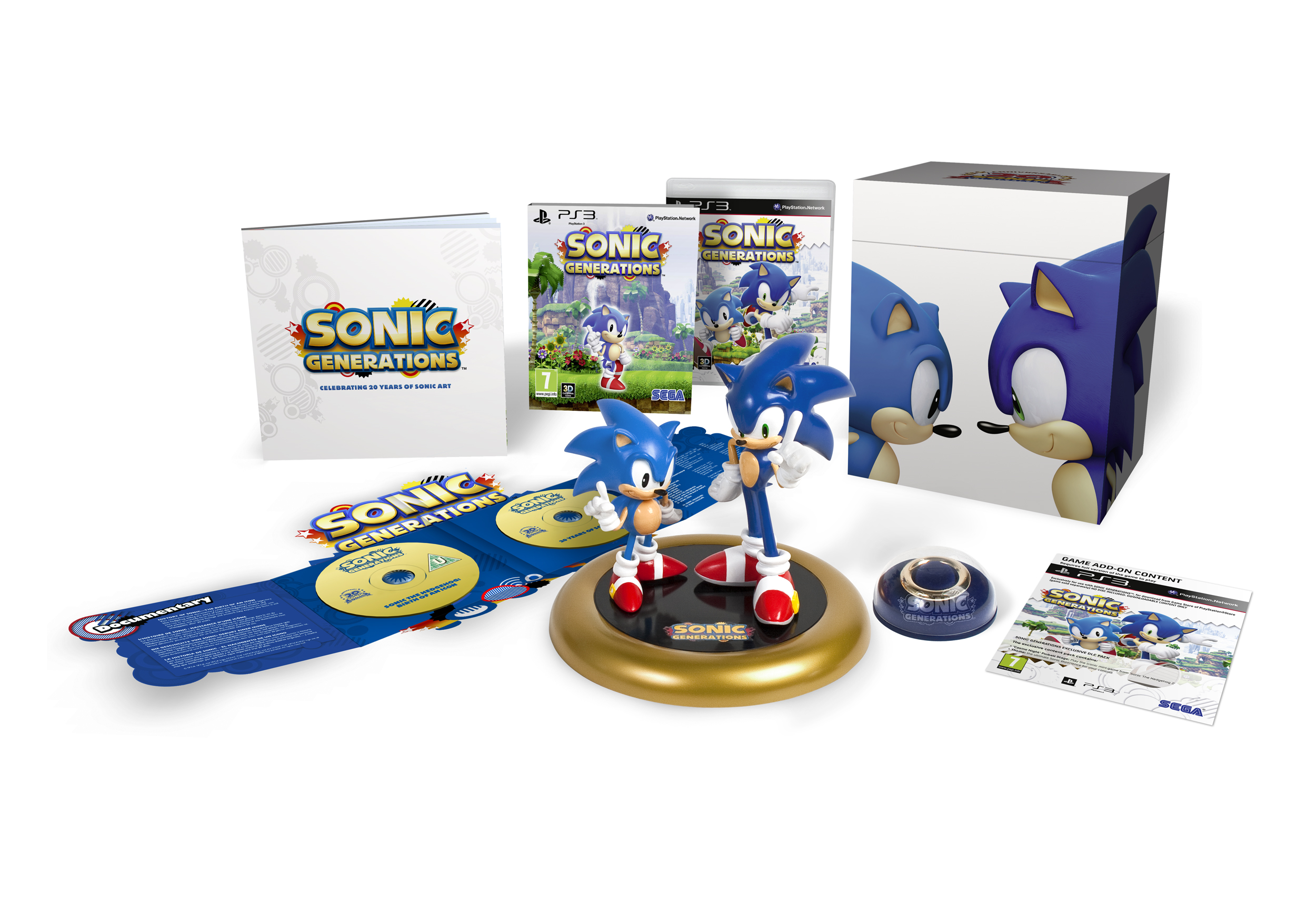 Sonic Generations PS3 Collector's Edition