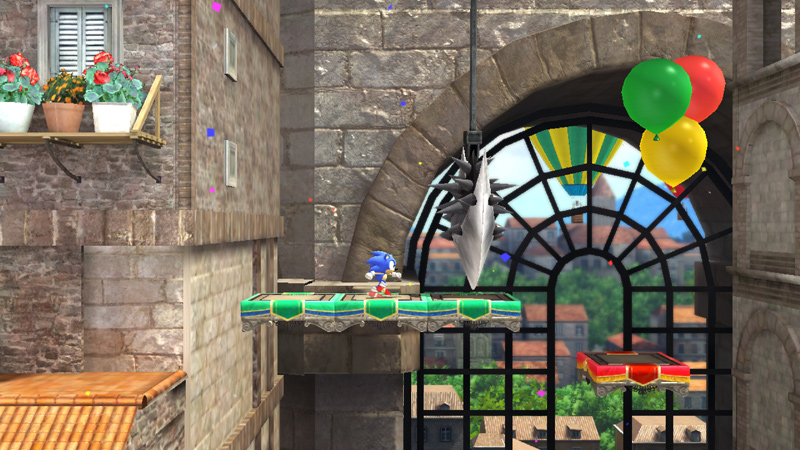 Sonic Generations Rooftop Run EU website screenshot