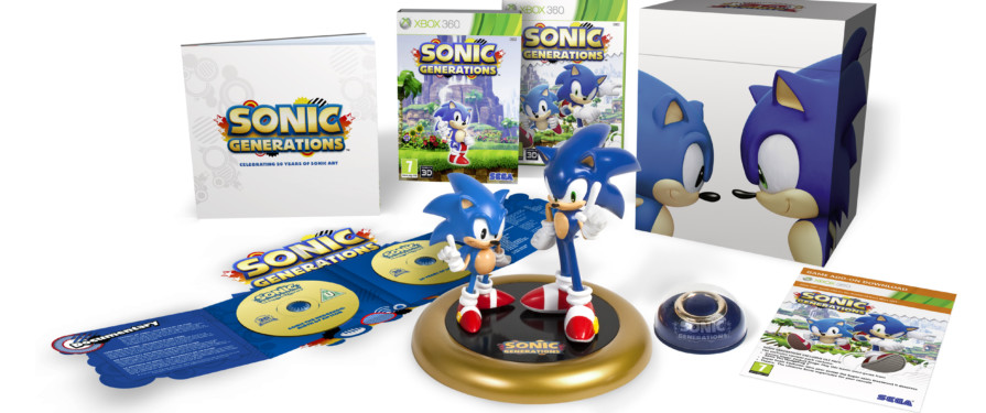 Online Commerce Retail Group Now Stocking Sonic Generations Collector's Edition in the UK