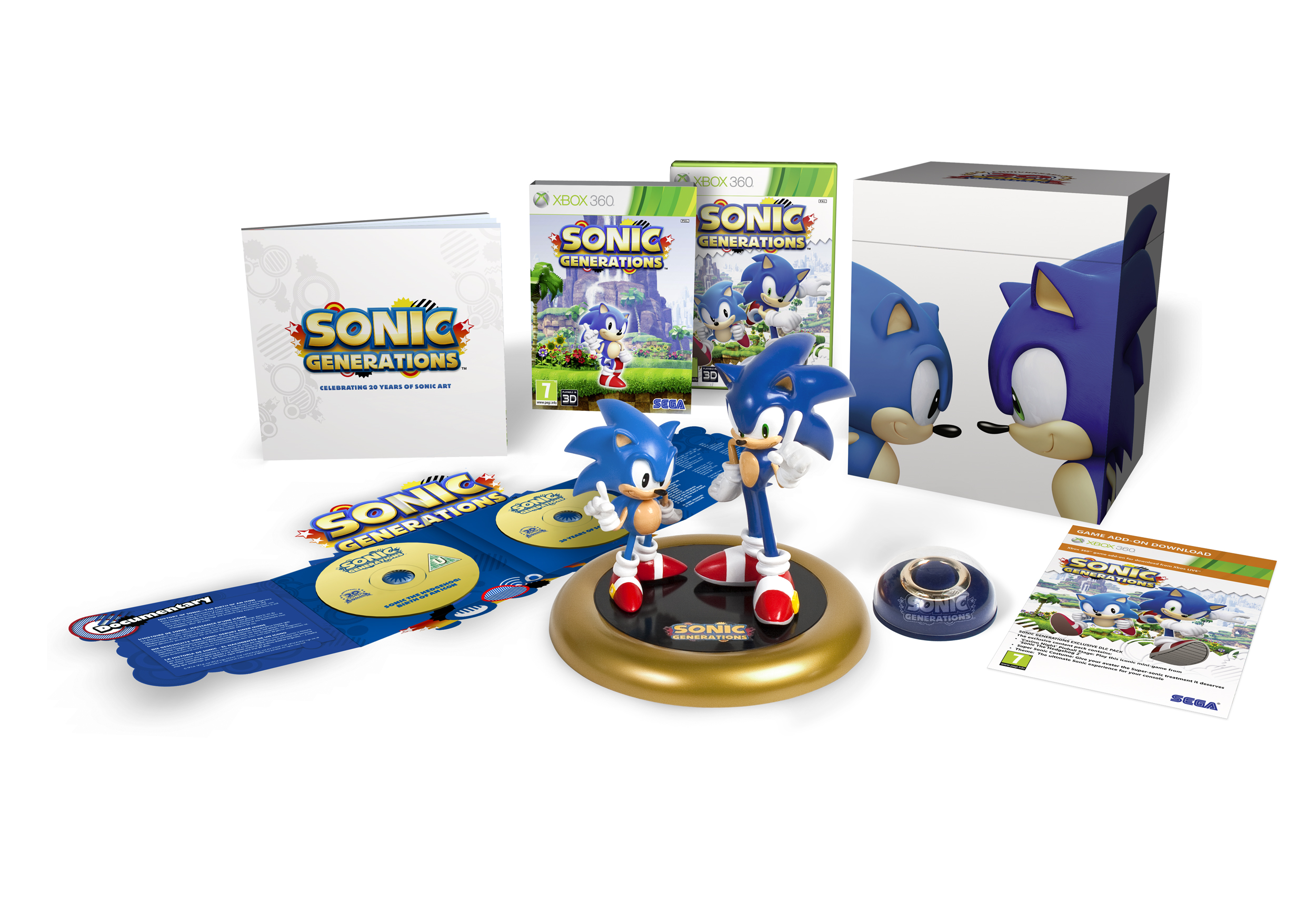 Sonic Generations Xbox 360 Collector's Edition